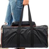 Case Bolsa Bag Jbl Partybox 100 Com Bolso P Cabos Sem Espuma