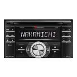 Autoestéreo Para Auto Nakamichi Na788 Con Usb, Bluetooth Y Lector De Tarjeta Sd