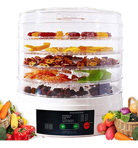 Maquina Deshidratadora De Alimentos Vchiming Secadora Elec