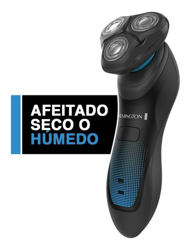 Afeitadora Rotativa Hyper Fex Remington Aqua