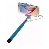 Monopod Baston Selfie Extensible Con Cable Camara Y Celular