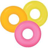 3 Salvavidas Neon Intex 36  Pool Party, Alberqueada, Luau