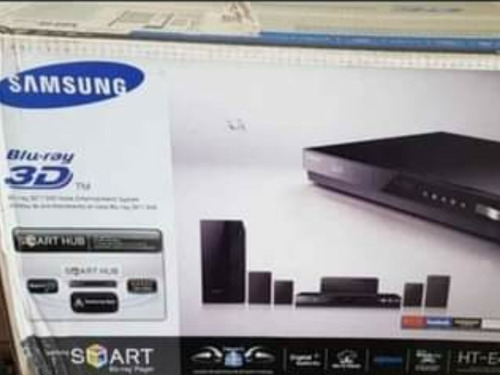 Home Theater  Samsung Blue Ray 3d  1000 Watts Nuevos