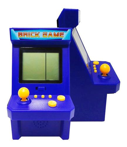Mini Arcade Tetris Retro 26 Juegos Sonido Portatil Vintage