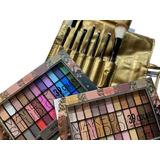 Set De Maquillaje Completo Tejar Y Set De Brochas X 7 Piezas