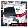 Ps3 Playstation 3 Bloqueado Super Slim Ou Slim Gta5 10 Jogos Original