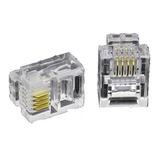 Conector Rj11 Pack 50 Unidades