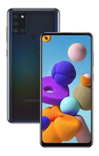 Samsung Galaxy A21s 64 Gb Dual Sim 4 Cámaras 48 Mpx Cover Co