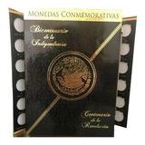Album Escudo Nacional Monedas 5 Pesos Conmemorativas