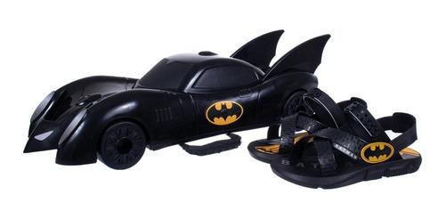 Papete Kids Menino Batman Batmóvel Grendene 22169
