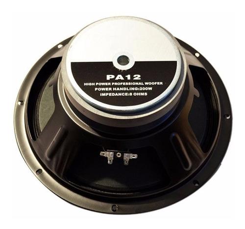 Parlante Woofer 12 Audio Profesional Xpro Pa12 200watts