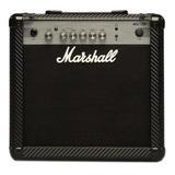 Amplificador Marshall Mg Carbon Fibre Mg15cf Combo Transistor 15w Negro