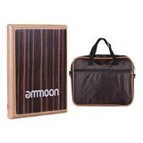 Ammoon - Cajón De Viaje Compacto Para Tambor De Mano