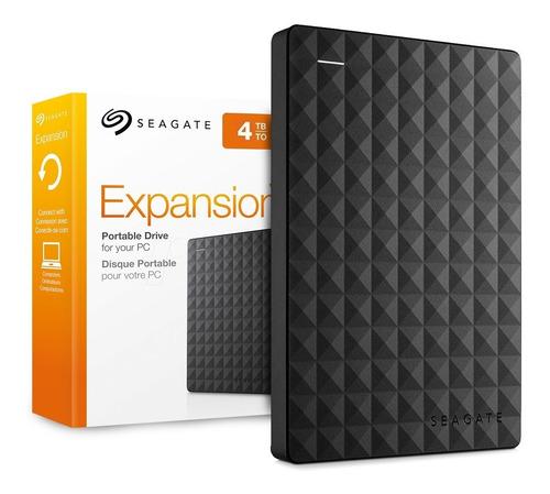 Disco Rigido Externo 4tb Seagate Expansion Portatil Cuotas