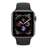 Smartwatch Iwo Iwo Lite Iwo 8 Lite Series 4 1.54  Caixa  Black Pulseira  Black W34