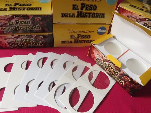 Cartones Para Monedas 50 Piezas 2 X 2  Hecho En Mexico 2x2