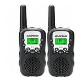 2 Walkie Talkie Intercomunicadores Baofeng Niños Boquitoqui