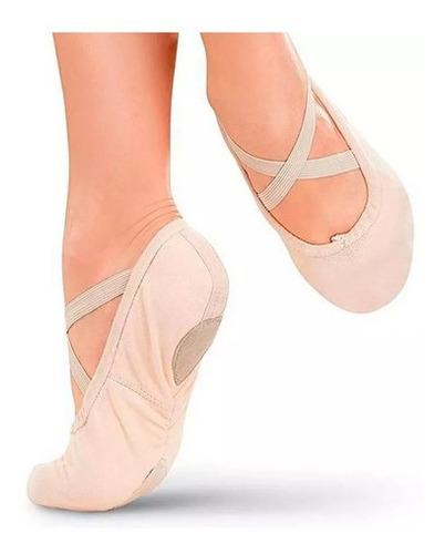 Ballet Zapatilla De Lona Perfectas De Entrenamiento Mvdsport