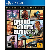 Grand Theft Auto 5 Juego Ps4 Premium Edition