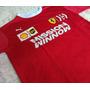 Camiseta Poloferrari Santander Santa Masculina Original