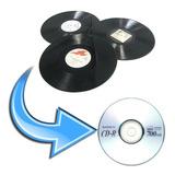 Digitalización De Vinilos Y Long Play A Cd, Dvd O Tu Celular