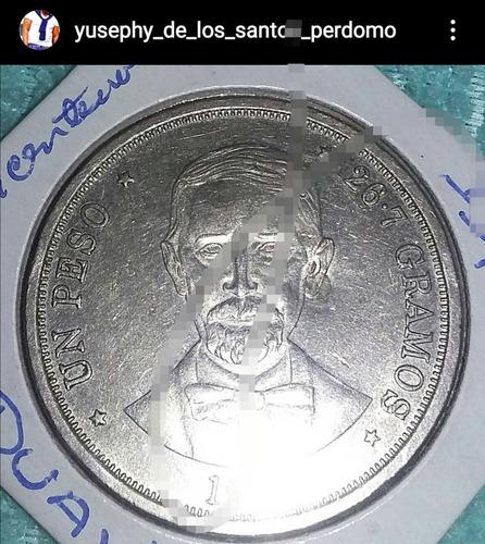 Un Peso En Moneda De República Dominicana Bicentenario,jpd.