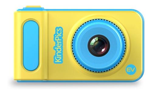 Cámara Digital Fotográfica Ev Niños Kinder Pics Hd Amarillo