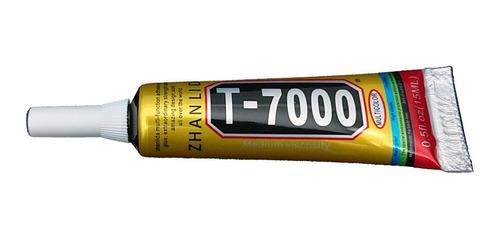 Pegamento Zhanlida T7000 15ml Color Negro Modulo Pantalla