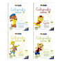 Caligrafia Divertida - 4 Volumes - Crianças Acima De 5 Anos Original