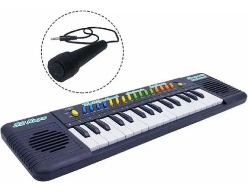 Organo Musical Infantil C/microfono Instrumento 32tec +envio