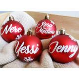 Bambalinas Personalizadas Navidad Detalle Original