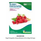 Papel Fotografico Glossy A4. 260 Gr. 200 Hojas Envío Gratis.