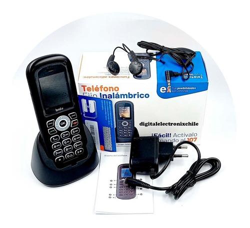 Teléfono Fijo Inalámbrico Entel Con Chip Radio Fm Agenda Sms