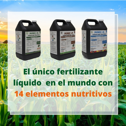 12kg Para 4 Hectareas Fertilizante Nasa Líquido 14 Elementos