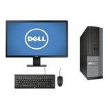 Cpu Monitor Dell Optiplex Core I5 4gb 500gb - Novo