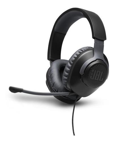 Headset Gamer Jbl Quantum 100 Para Consoles E Pc