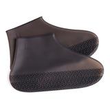 Cover Shoes De Silicon Modelo Corto Sin Ziper