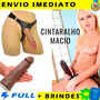 Cinta Com Pênis Grosso Em Silicone 20 Cm X 5 Cm Original