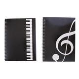 Paquete De 2 Cuadernos De Pentagrama De Notación, 50