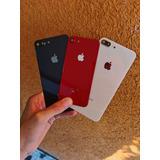 Tapa Trasera iPhone 8 / 8 Plus + Bisel Camara + Marco Vidrio