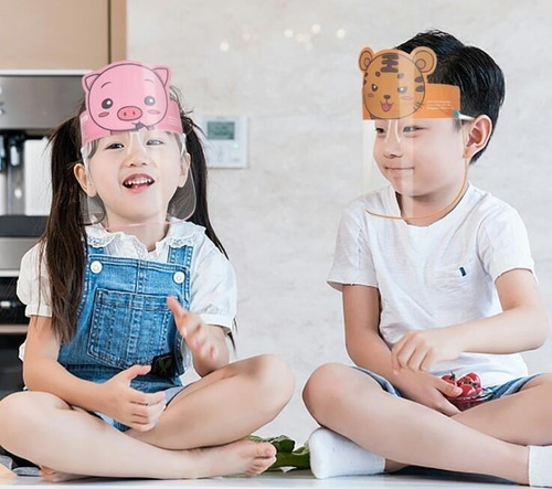 Protector Facial Niños Mod Variados
