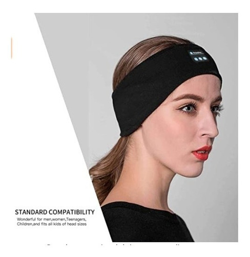 Banda Bluetooth Tws Sport Audifonos Music Headband Dormir