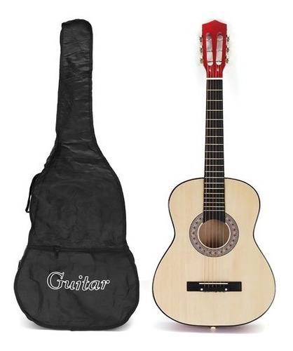 Guitarra Clásica Criolla Española Madera + Funda Regalo -mli