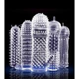 Condones Texturizados Reutilizables 5 Piezas, Kit Condones