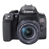Canon Eos Rebel T8i 18-55mm Is Stm Kit Dslr Color  Negro