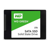 Disco Sólido Ssd Interno Western Digital Wd Green Wds100t2g0a 1tb Verde