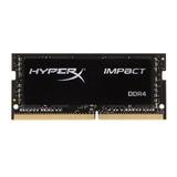 Memoria Ram Impact Color Negro  8gb 1 Hyperx Hx429s17ib2/8