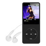 Mp3 Mp4 Player Leitor De Música Suporta 64gb Fone Radio Fm