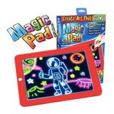 Pizarra Mágica Deluxe - Magic Pad - Fluorescente- Niños
