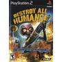 Jogo Destroy All Humans!  Ps2 Original